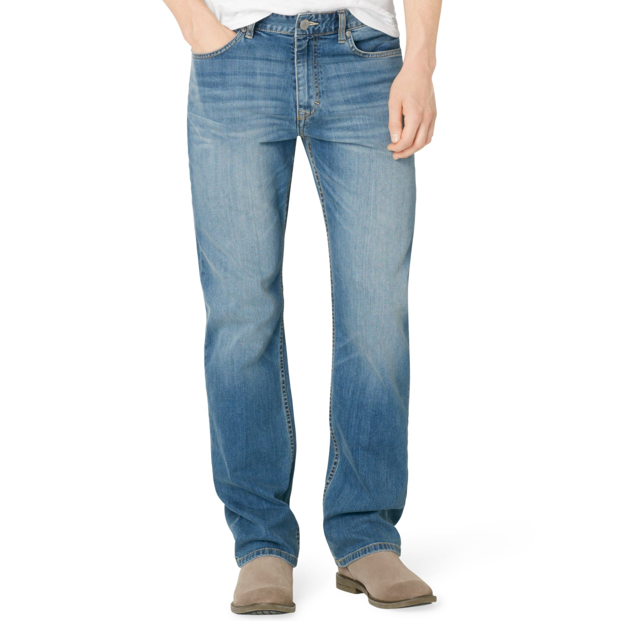 Calvin Klein Jeans Relaxed Jeans In Blue For Men Cove Lyst
