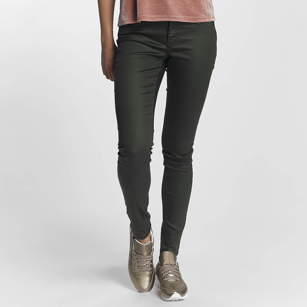 ONLY. Women's Green Wo Chino Onllucia