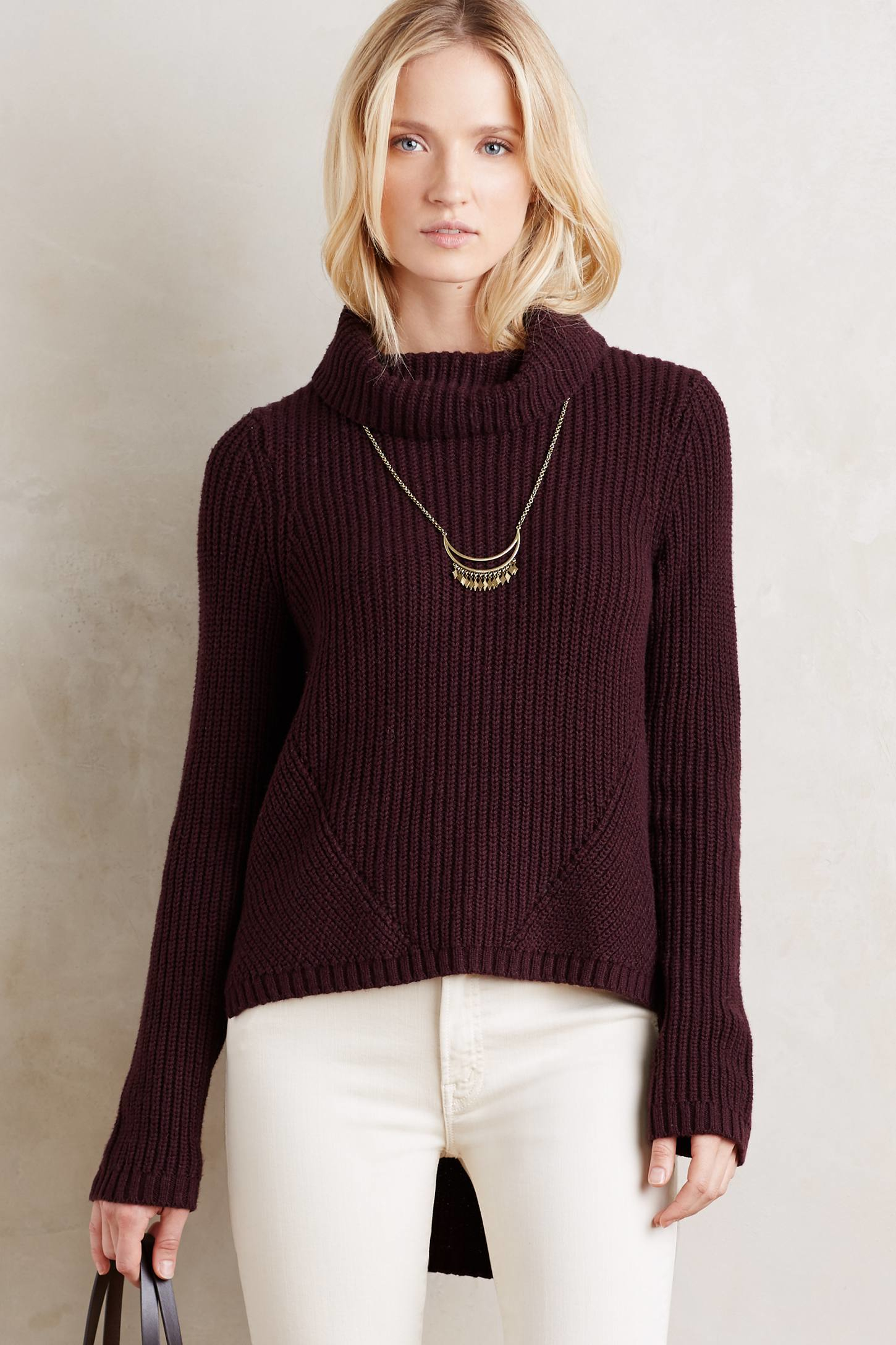Honeycomb Knit Sweater