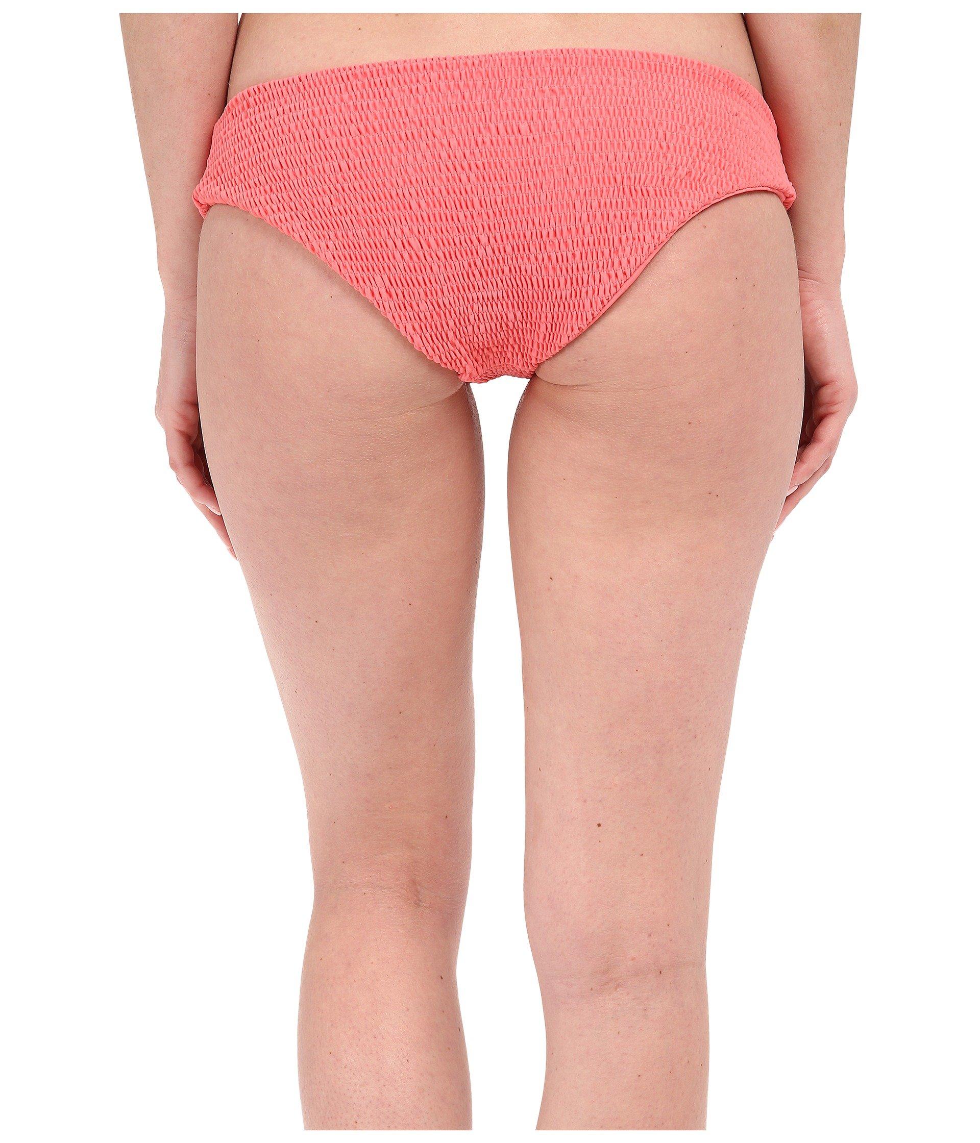 Tori praver swimwear Oaxaca Bottom Full Coverage in Pink ...