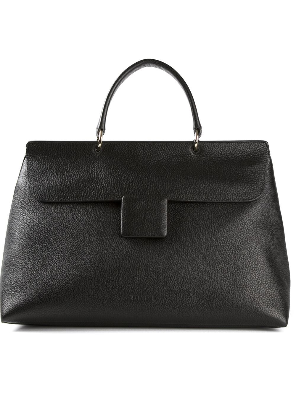 Lyst Jil Sander Large Lady J Tote Bag In Black