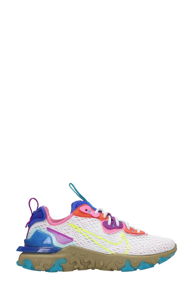 Nike React Vision Sneakers In Rose-pink Tech/synthetic - Lyst