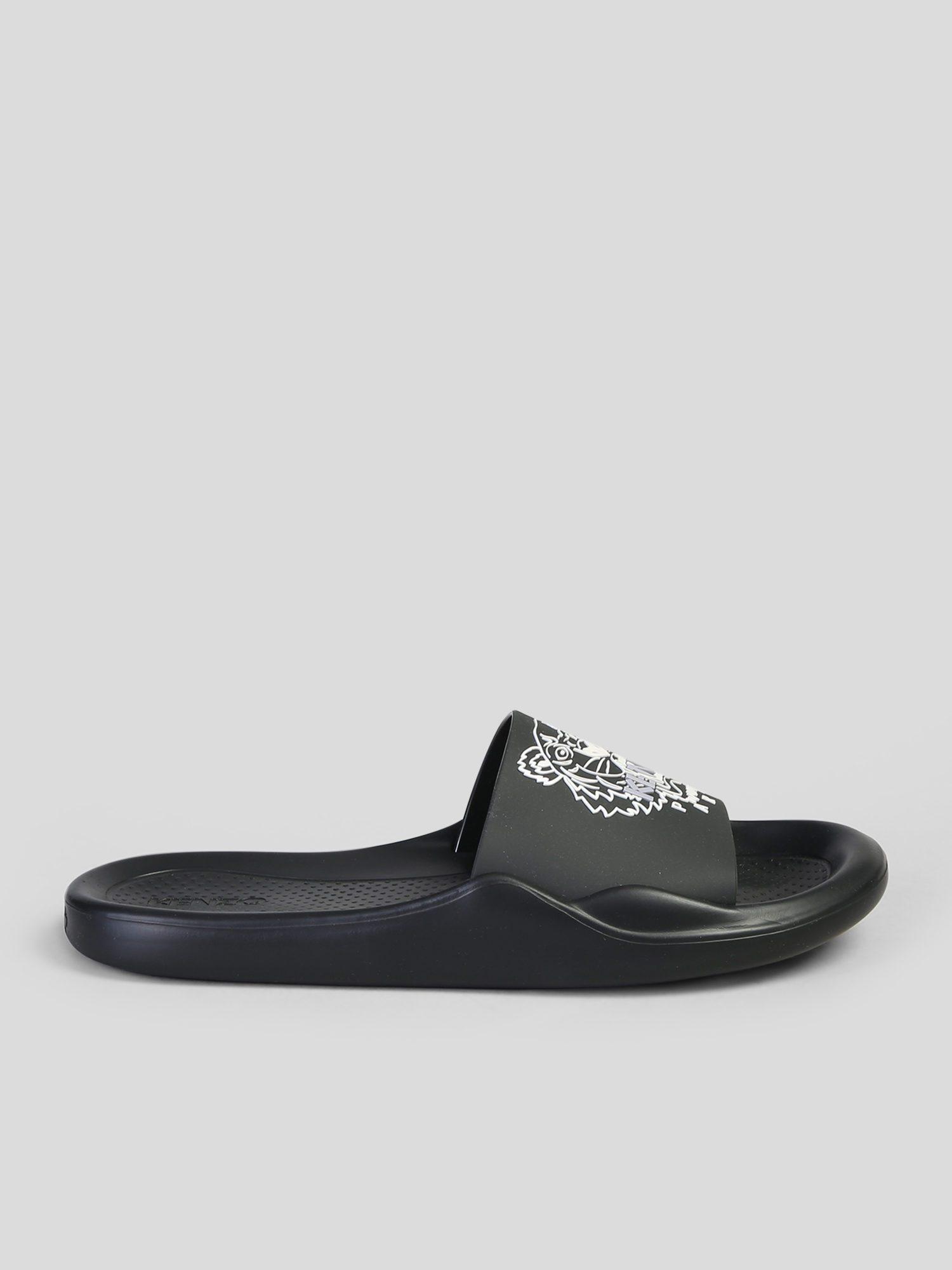 782933c50 Lyst - KENZO Tiger Pool Slide Sandals in Black