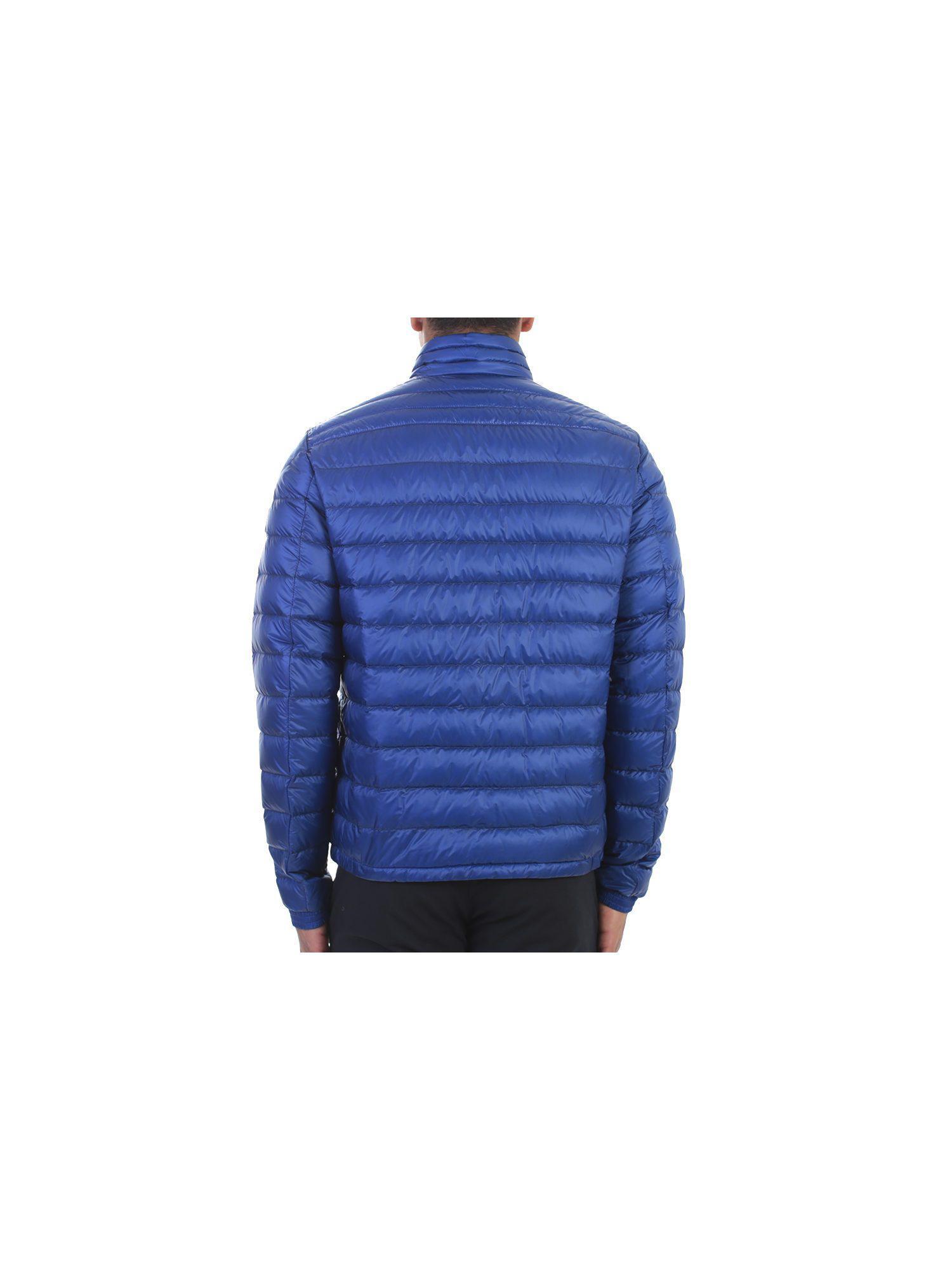 Moncler Synthetic Electric Blue Nylon Daniel Jacket for Men