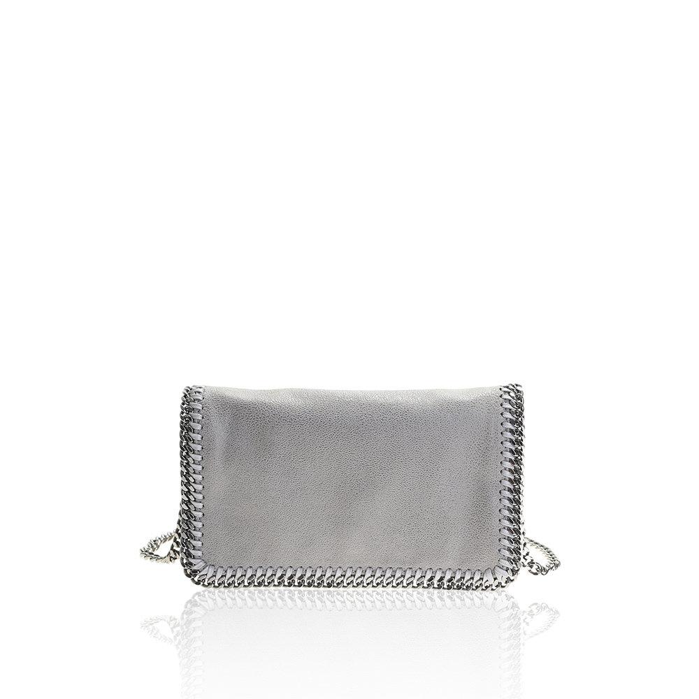 stella mccartney falabella crossbody light grey bag in gray grey lyst. Black Bedroom Furniture Sets. Home Design Ideas