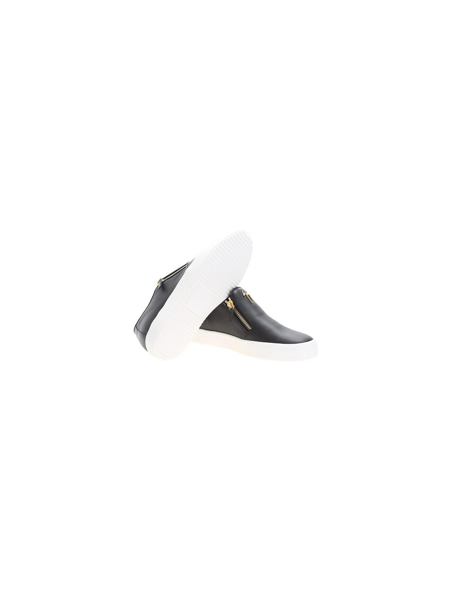 Lux Leather Classic Slip On  Big Shoes