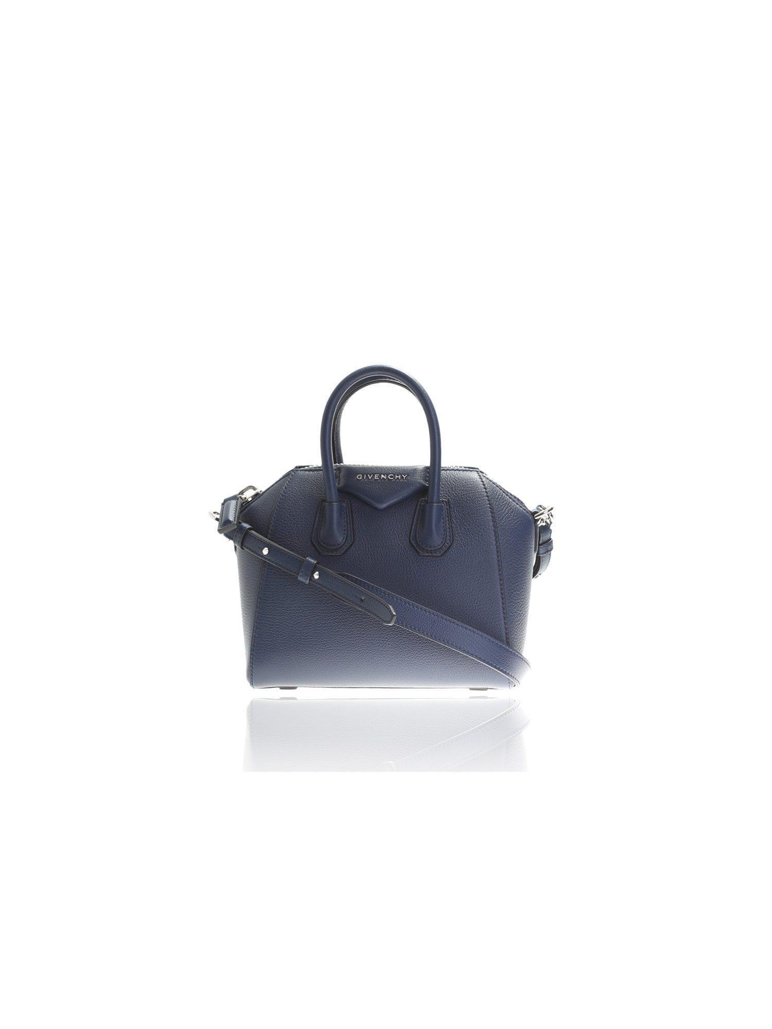 Givenchy - Blue Antigona Mini Leather Tote Bag - Lyst. View Fullscreen e410c0b5aa