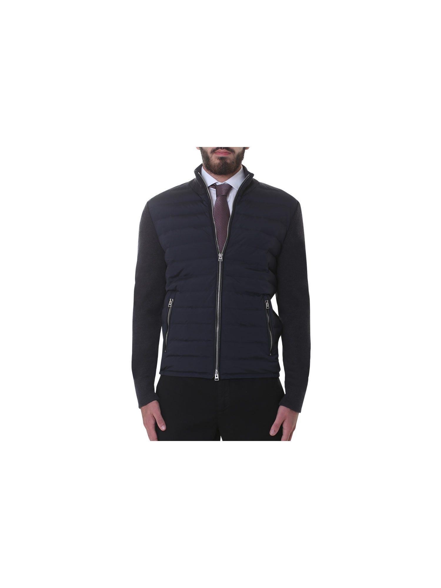Tom Ford Blue Wool And Nylon Jacket for Men