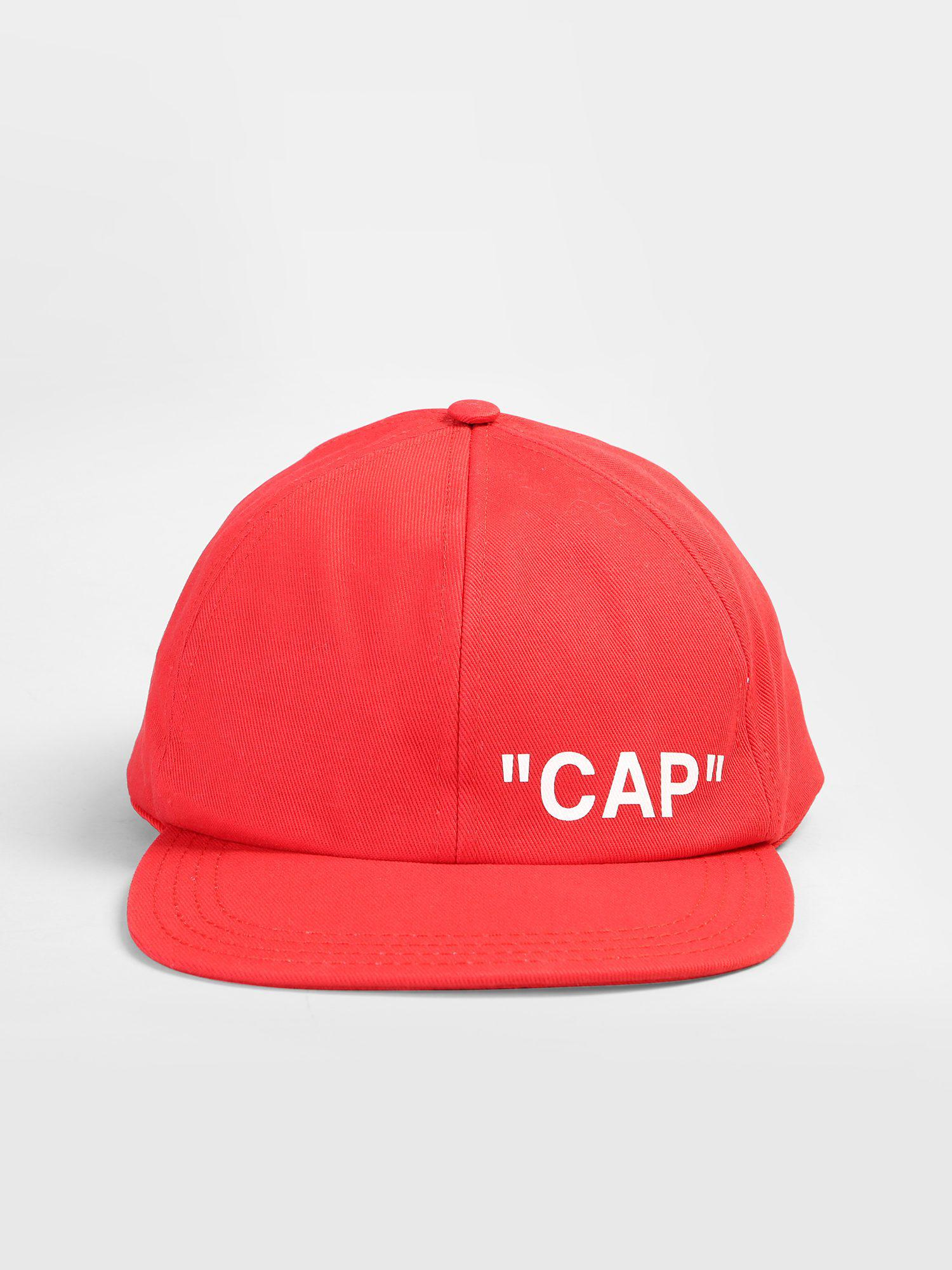 94e49ab21e5 ... attractive price cffc4 bb9c5 Lyst - Off-White CO Virgil Abloh Cotton  Canvas Baseball Hat ...