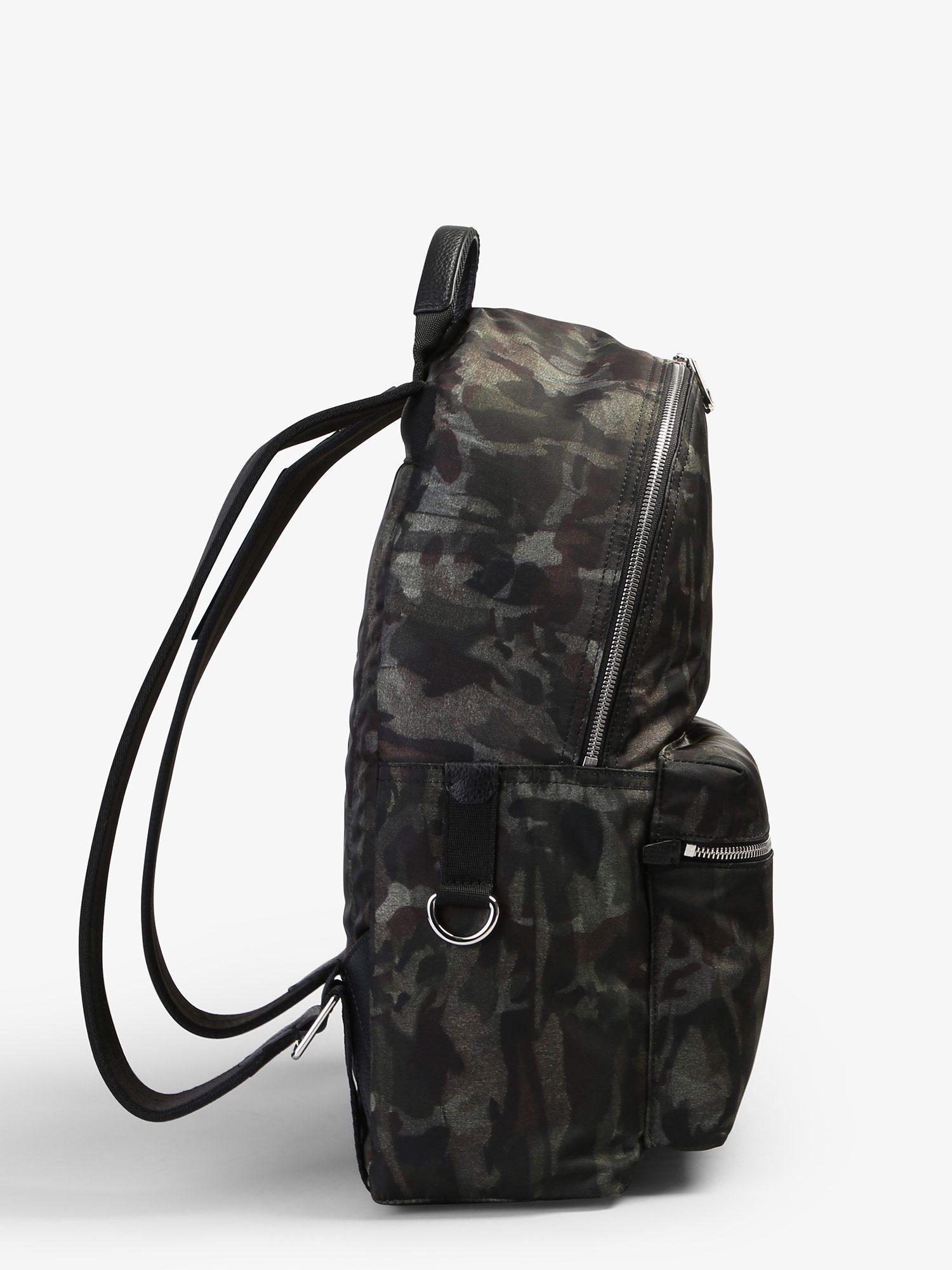 Dolce   Gabbana Camouflage Pattern Nylon Backpack in Black for Men - Lyst 2796f0424214d