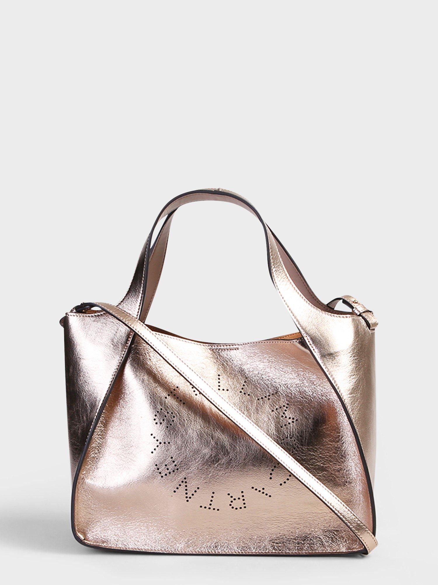 070d107012ed Stella McCartney. Women s Metallic Faux Leather Bag