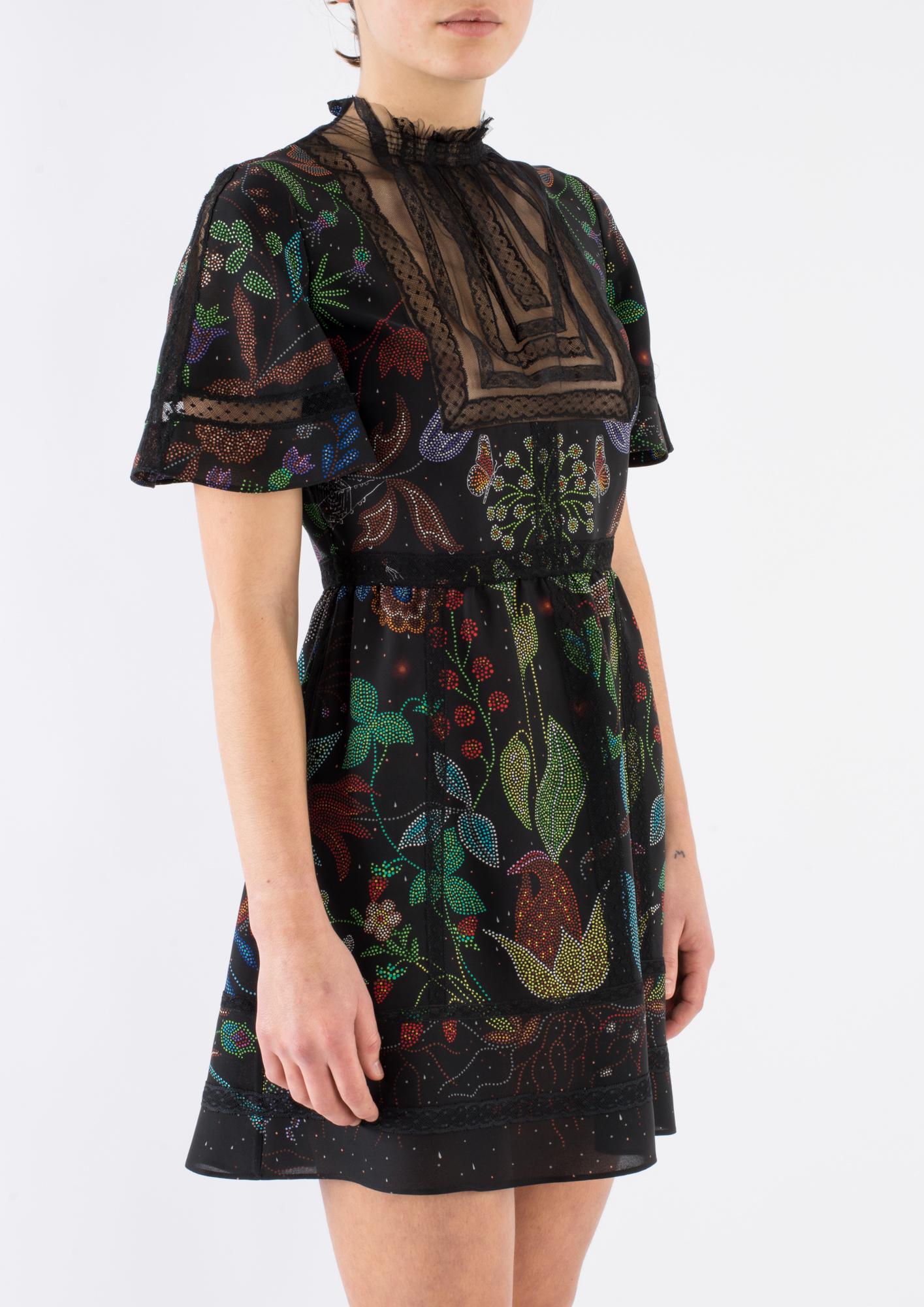 valentino garden dress lyst