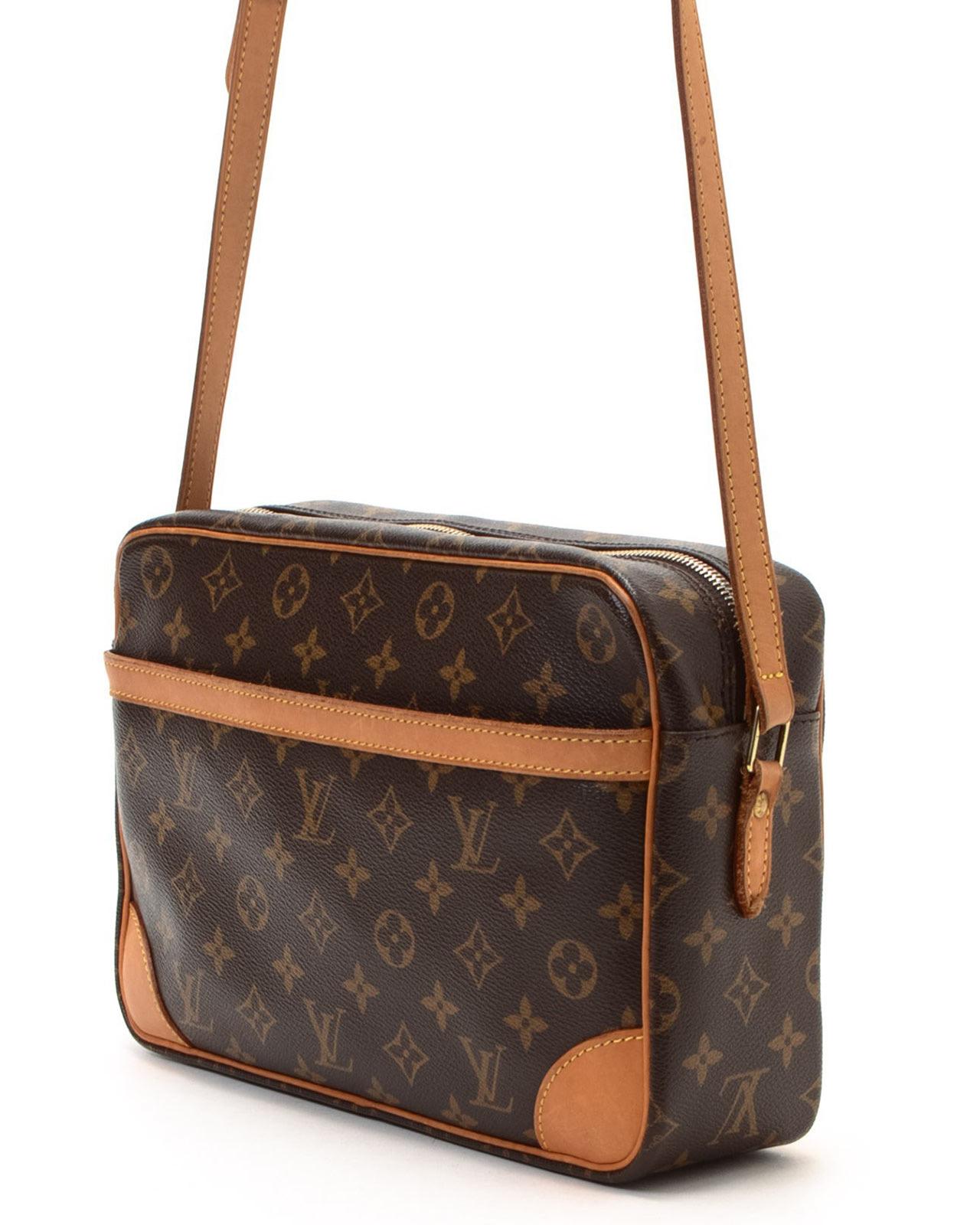 76b382e2a133 Lyst - Louis Vuitton Trocadero 30 Crossbody in Brown