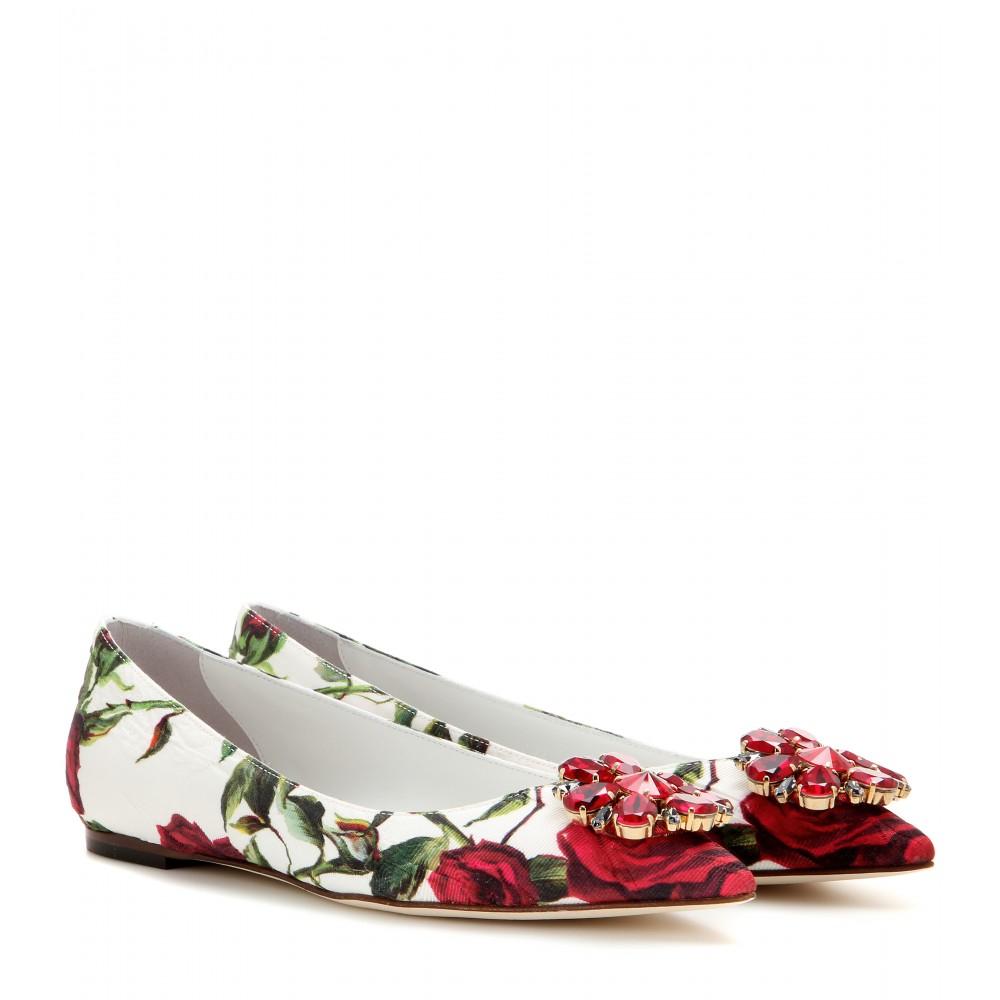 Dolce & Gabbana Python Flats ee8cnZw