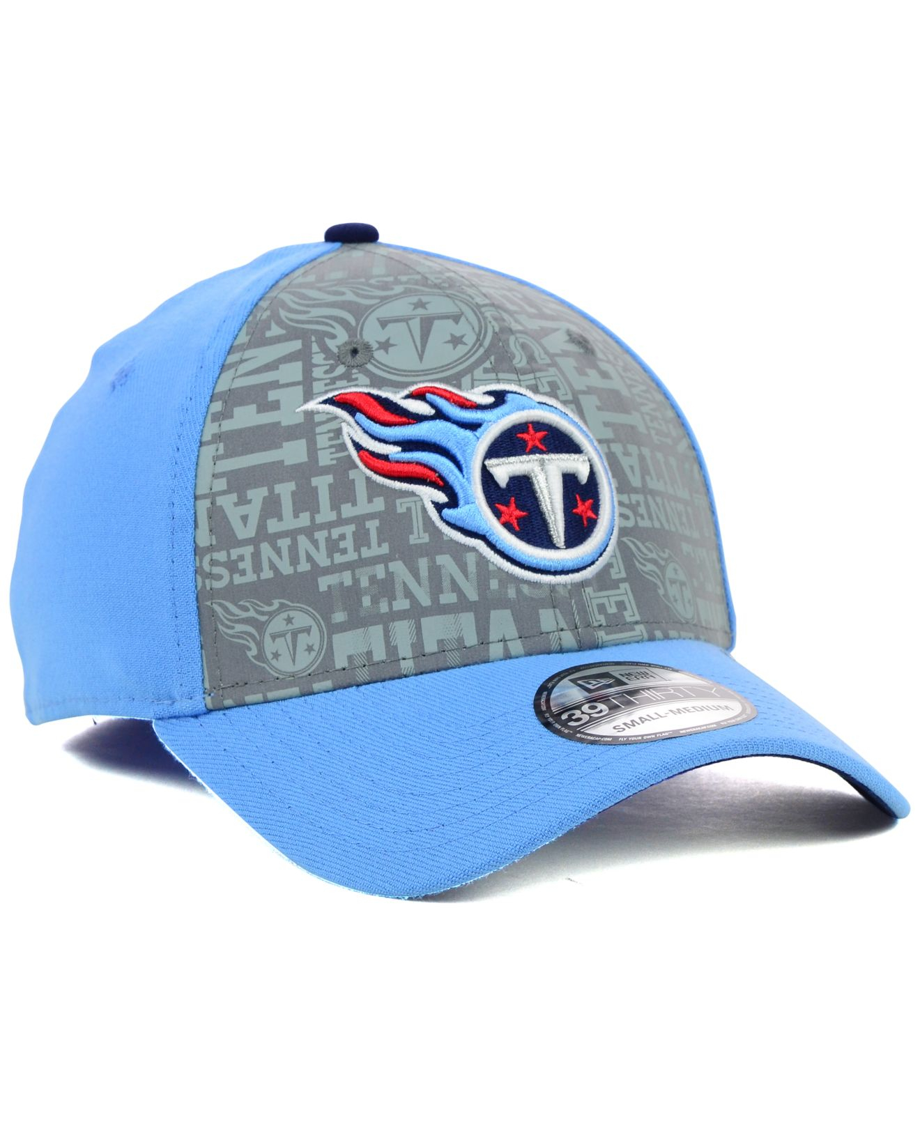 the latest 912ed ec031 ... coupon code for lyst ktz tennessee titans 2014 nfl draft flip 39thirty  cap in blue e8ed4