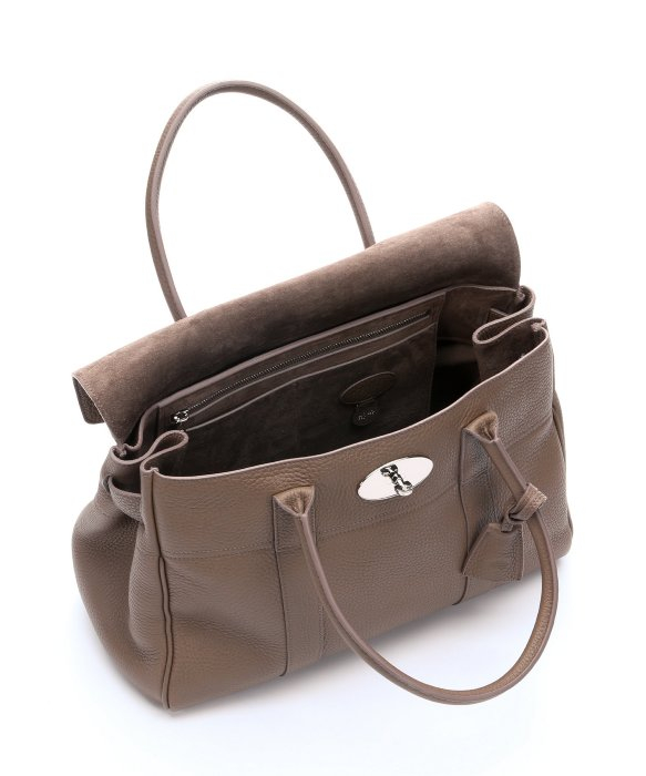 ... switzerland lyst mulberry taupe pebbled leather bayswater bag in brown  abeab ef8f4 ... 3fd724f34d689