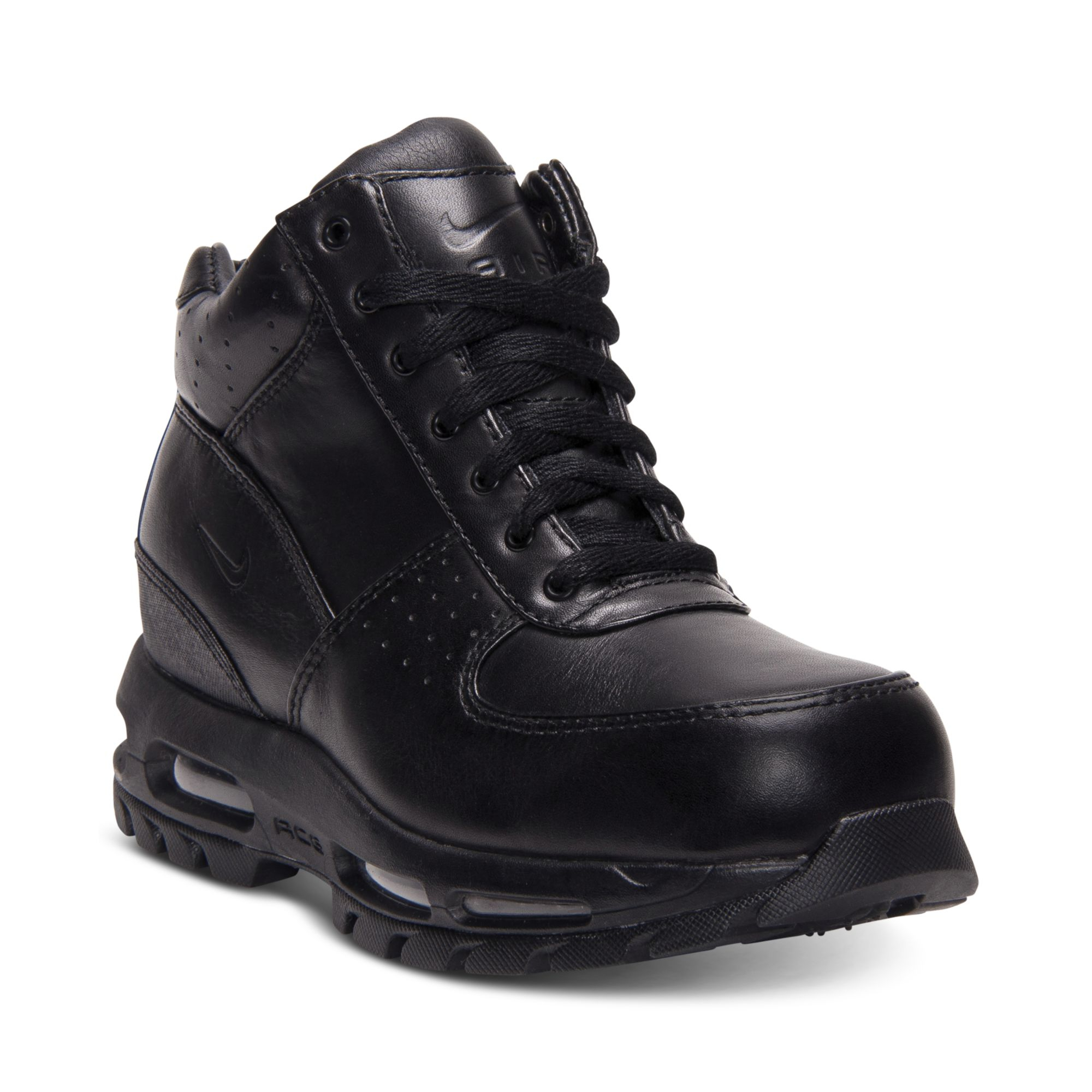 nike air max goadome boots in black for lyst