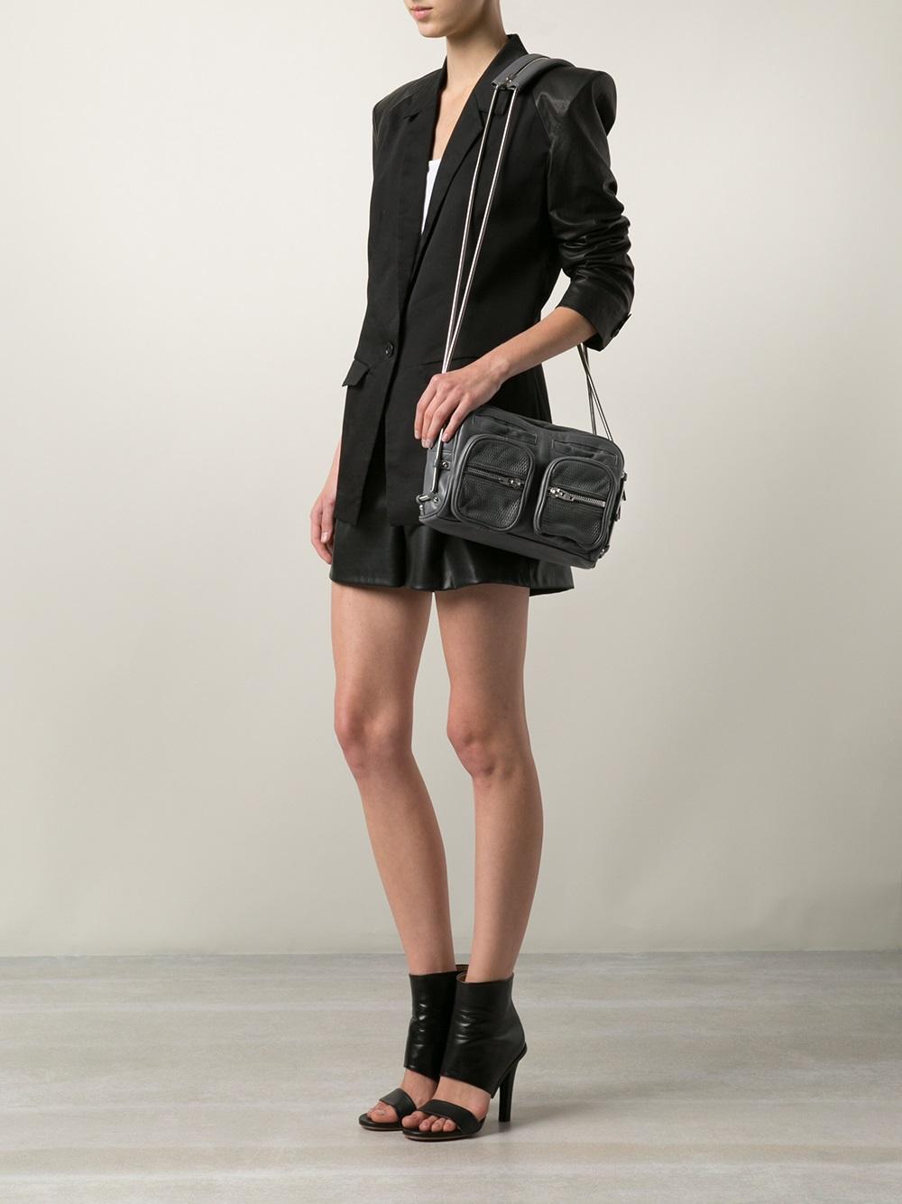 Lyst Alexander Wang Brenda Bag In Gray