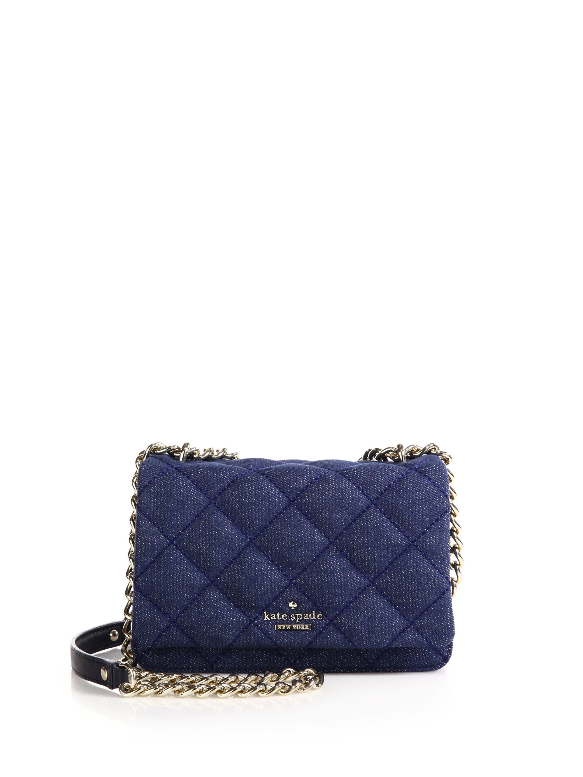 Kate Spade New York Emerson Place Vivenna Quilted Denim