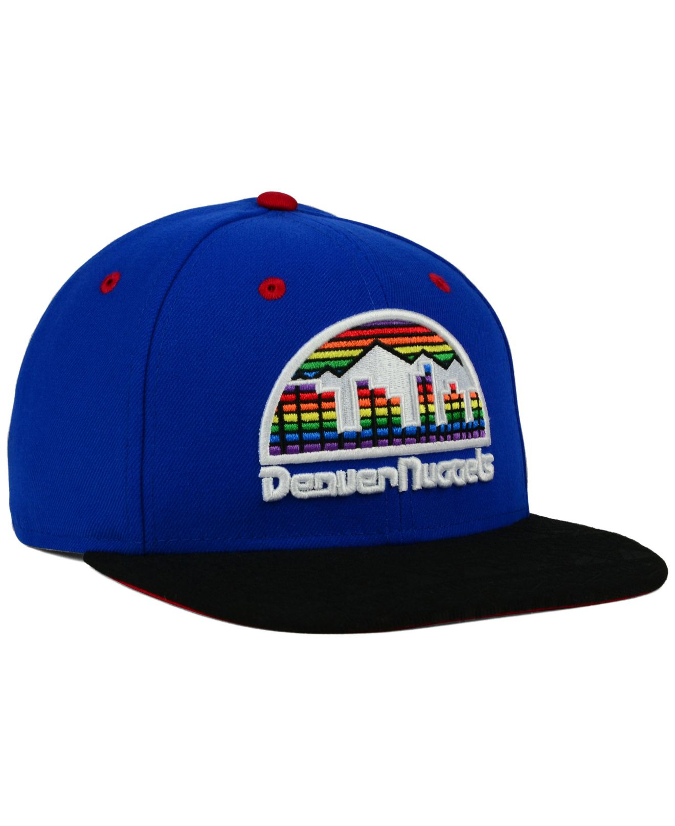 Lyst - KTZ Denver Nuggets Tone 9fifty Snapback Cap in Blue for Men b4412d11c053