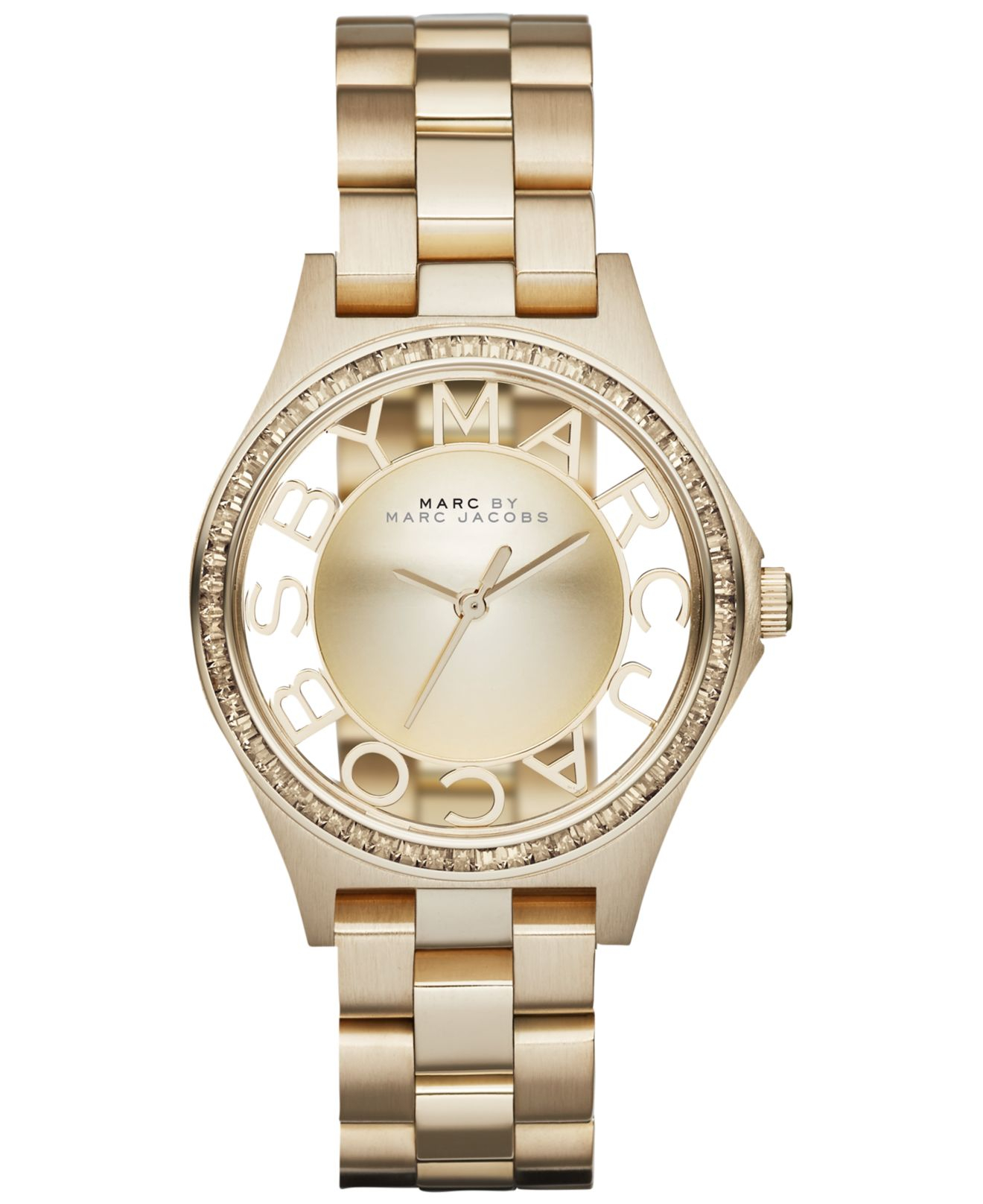 marc by marc s henry skeleton gold tone