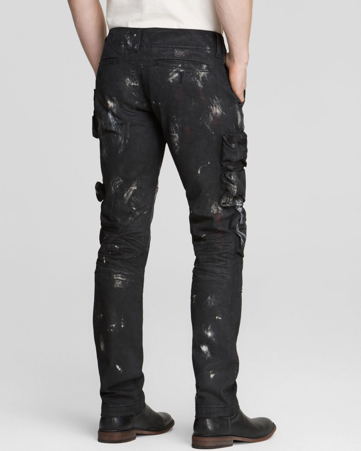 PRPS Jeans - The Mob Savoy Cargo Relaxed Fit In Black for Men