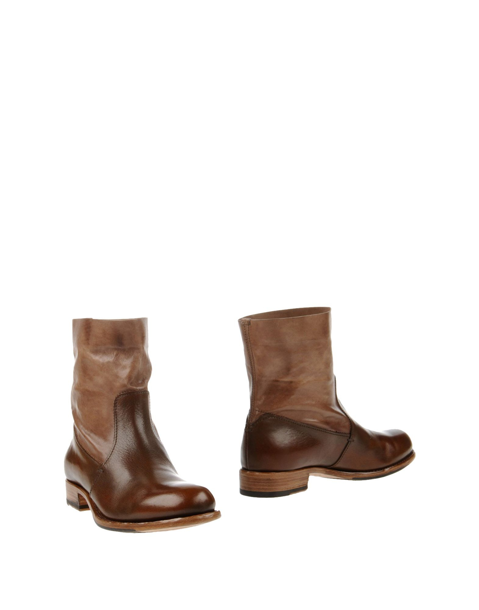 pantanetti ankle boots in brown brown lyst