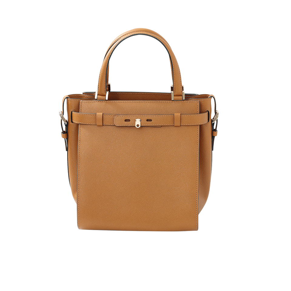 Valextra Cube Handbag in Brown