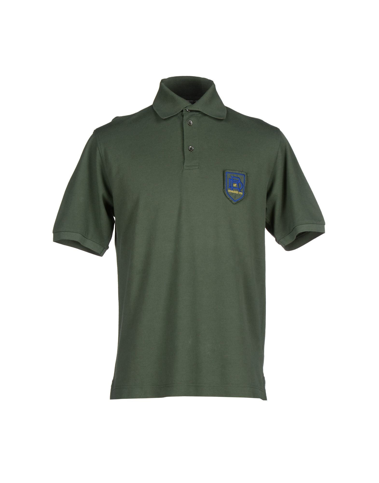 Drumohr polo shirt in green for men emerald green lyst Emerald green mens dress shirt