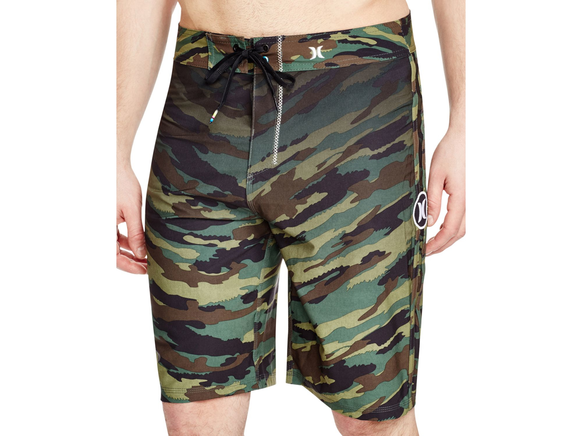 e762b79863 Hurley Green Phantom Camouflage Board Shorts for men
