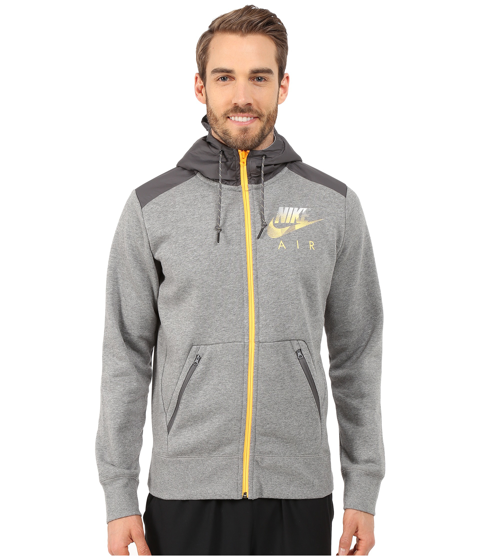 8ee359ce87 Gallery. Previously sold at  Zappos · Men s Embroidered Hoodies Men s Full  Zip ...