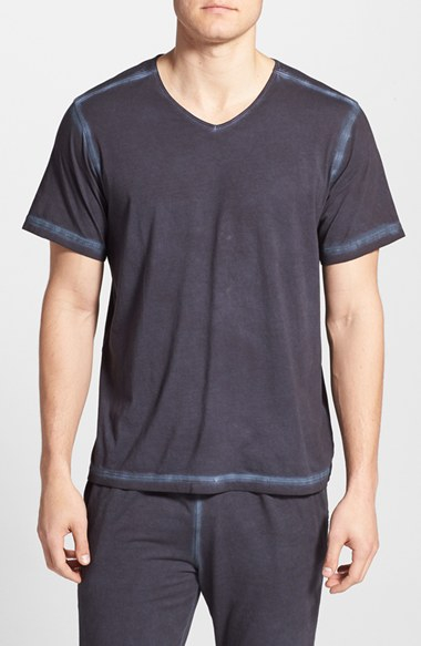 Daniel buchler powder wash peruvian pima cotton t shirt in for Peruvian cotton t shirts