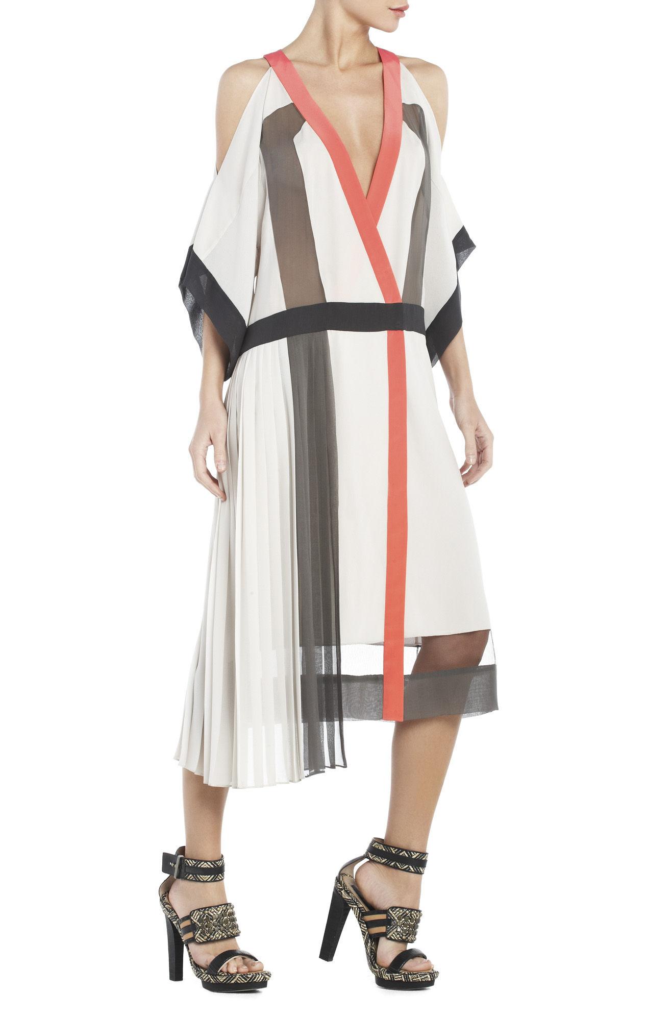 4985719cdb Lyst - BCBGMAXAZRIA Runway Daga Dress