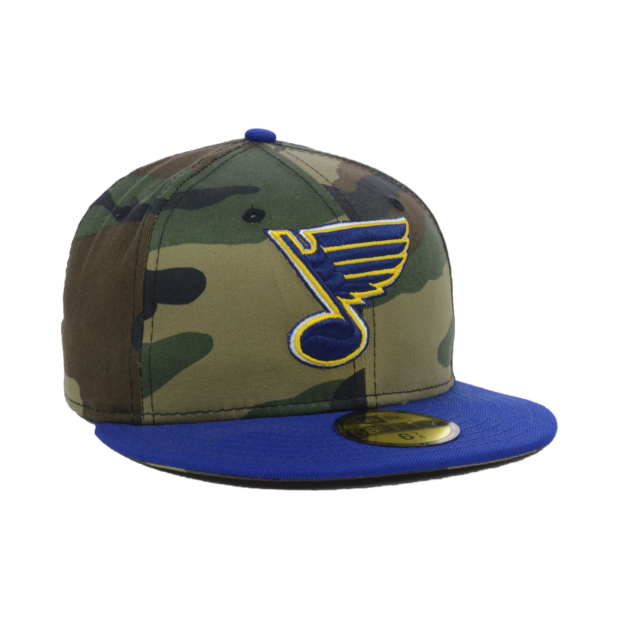5aad5503397e2 ... clearance cheapest lyst ktz st louis blues nhl woodland tc 59fifty cap  for men bb774 cedf1 store ...