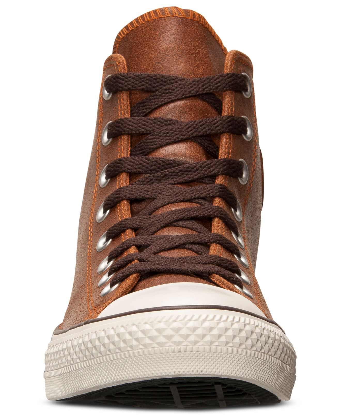 6abcb5f6b154 ... best price lyst converse mens all star vintage leather hi casual  sneakers bdc04 d3cc4