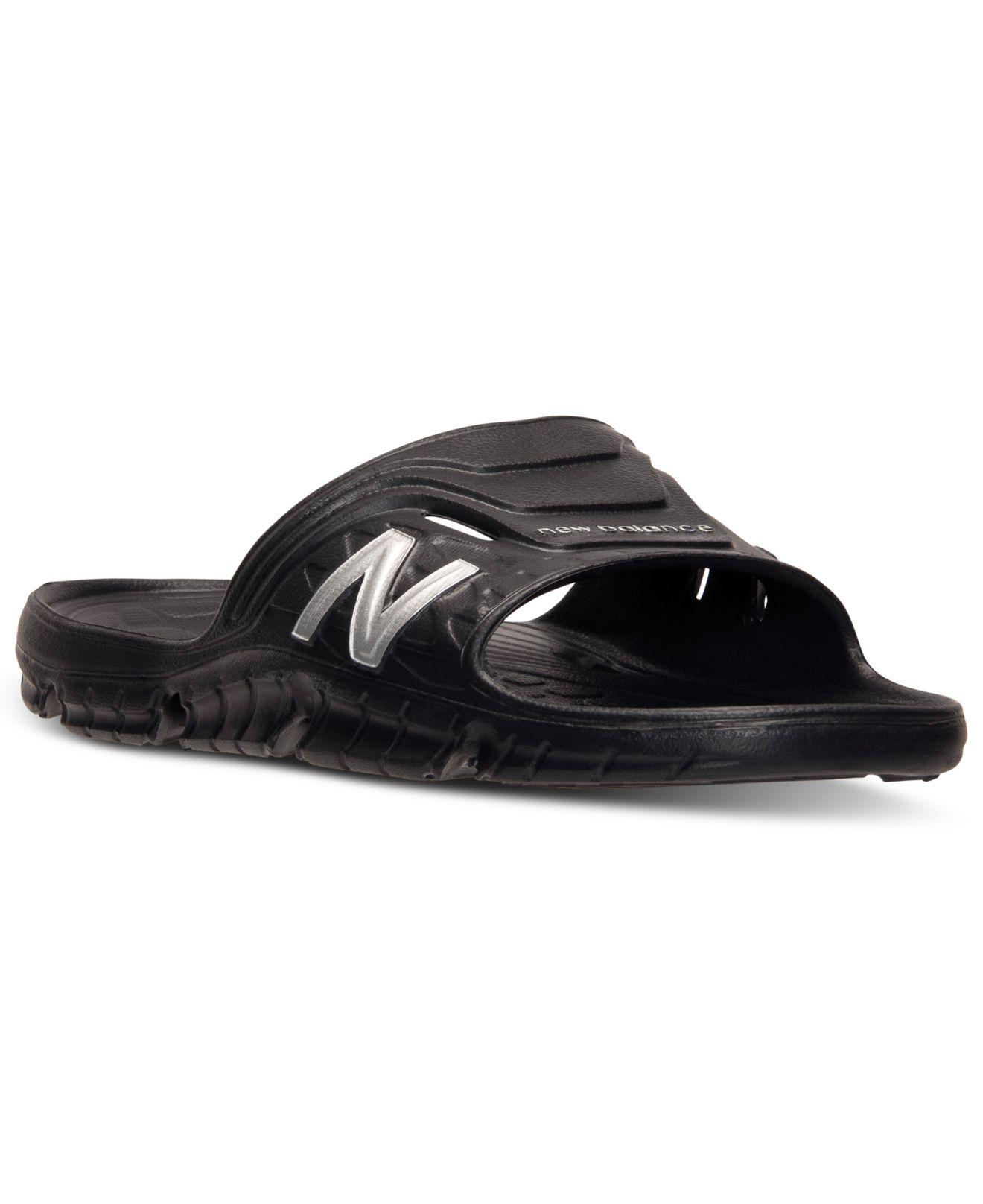 652e1fa904e Lyst - New Balance Men S Klone Lab Float Ii Slide Sandals in Black ...