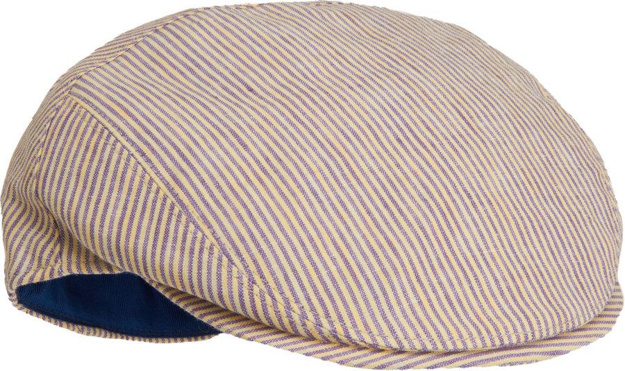 Lyst - Borsalino Striped Ivy Cap in Brown for Men 75c2532f3595