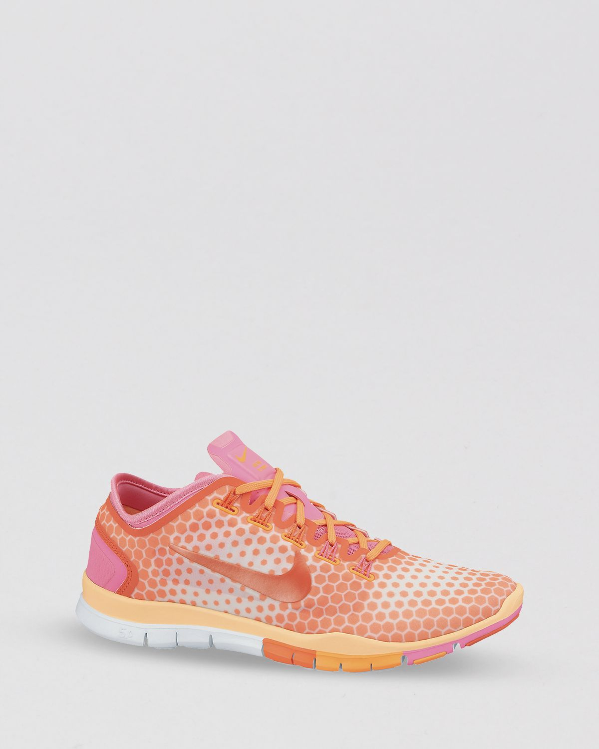 sports shoes fb8f9 b6b52 Lyst - Nike Lace Up Sneakers - Women S Free Tr Connect 2 in Orange