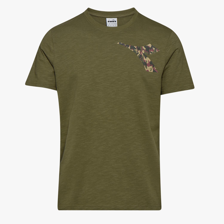 300ce4c1 Diadora Ss T-shirt Green in Green for Men - Lyst