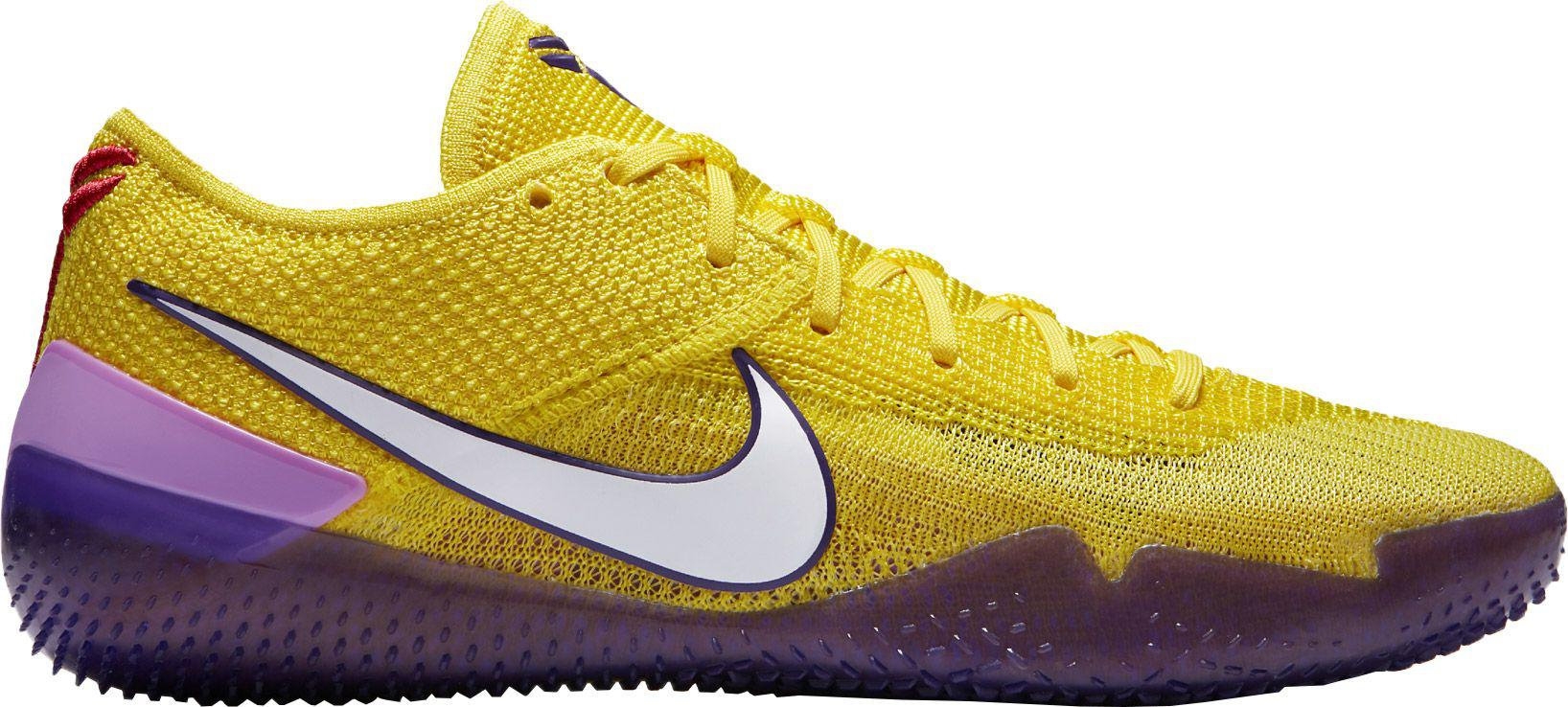 05dfa4068c98 Lyst - Nike Kobe A.d. Nxt 360 Basketball Shoes in Yellow for Men