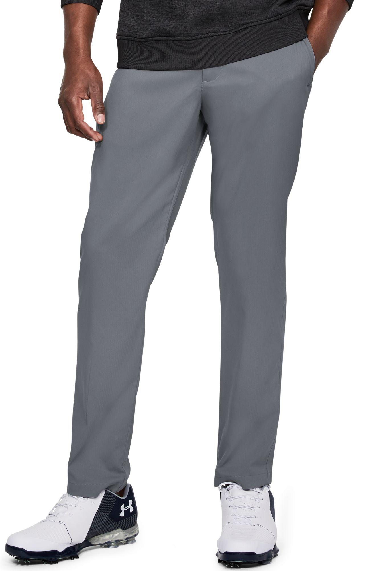 1c458f047ff01 Under Armour Showdown Tapered Leg Golf Pants in Gray for Men - Lyst