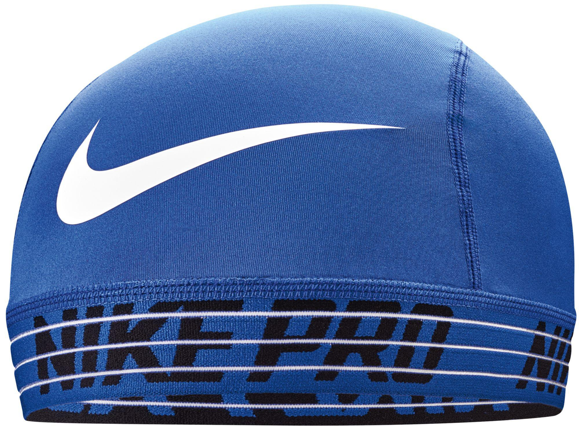 Lyst - Nike Pro Skull Cap 2.0 in Blue for Men 52cf08d4d277
