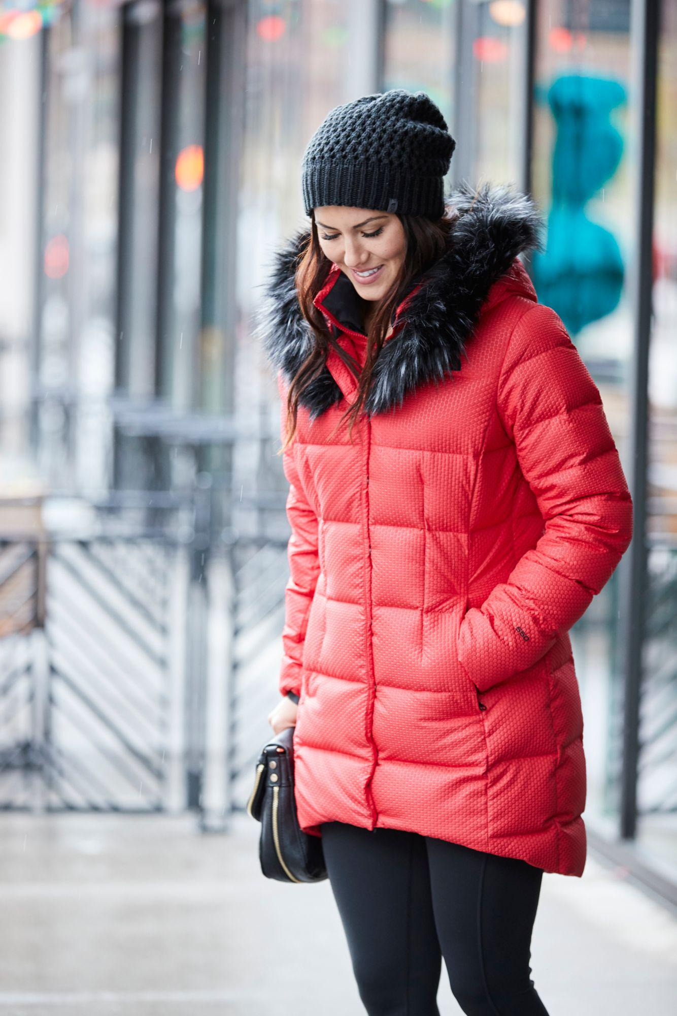 d30b42e6d The North Face Red Hey Mama Parkina Insulated Jacket