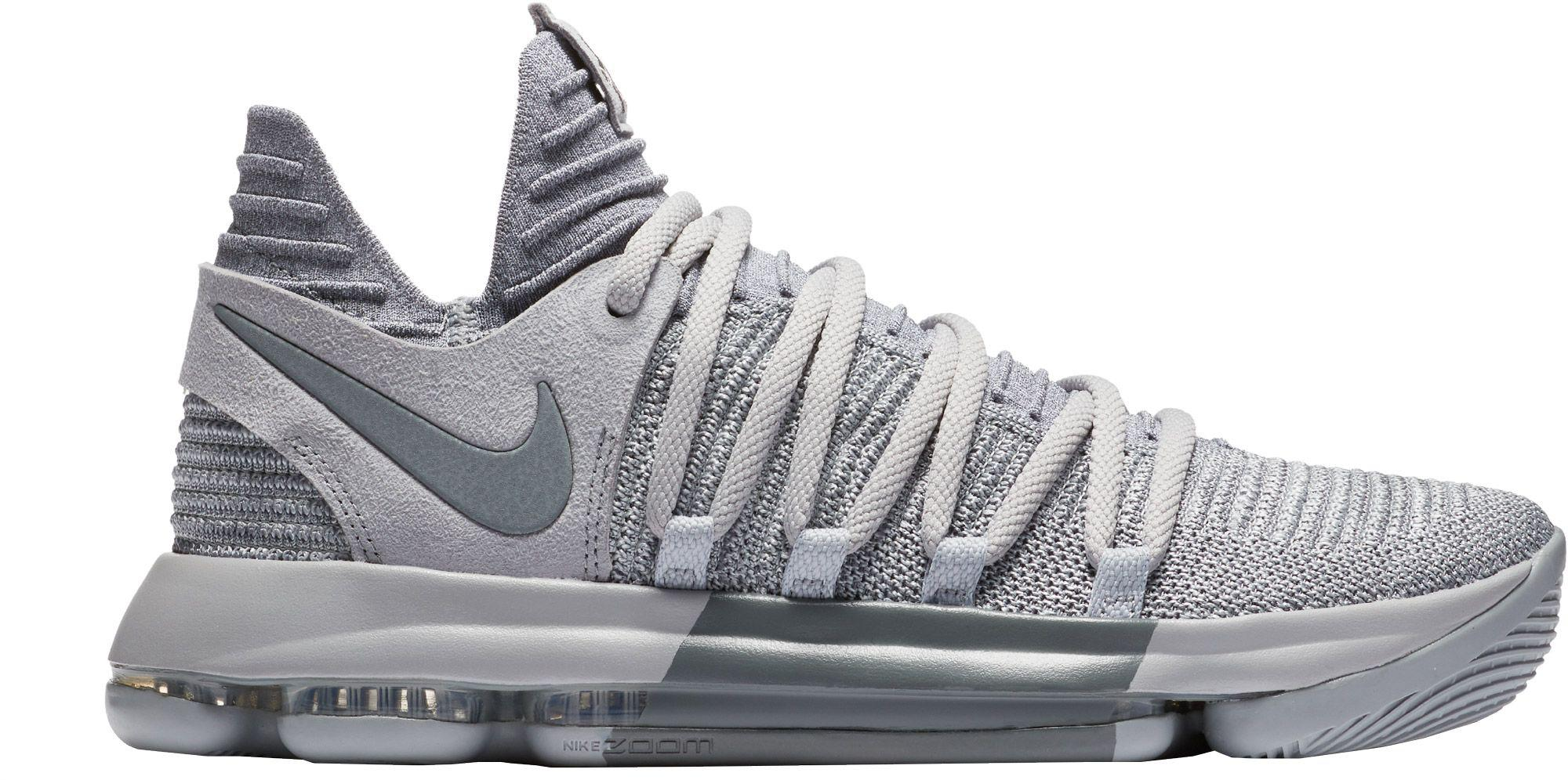 newest c75c7 1168d Lyst - Nike Zoom Kd 10 Basketball Shoes in Gray for Men