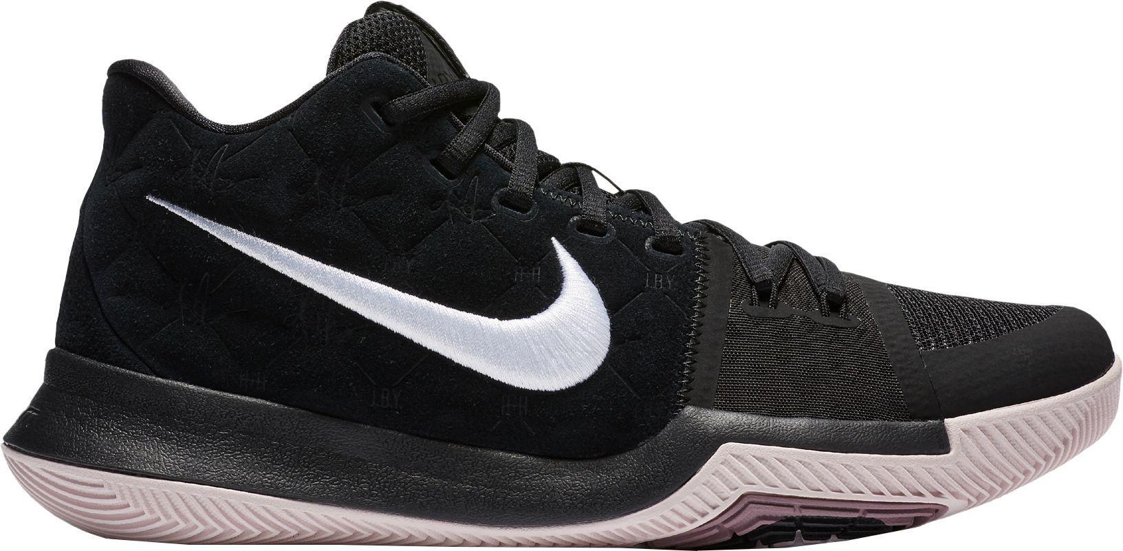 11850a2df7b ... cheap nike black kyrie 3 basketball shoes for men lyst ab3a2 b4c8f