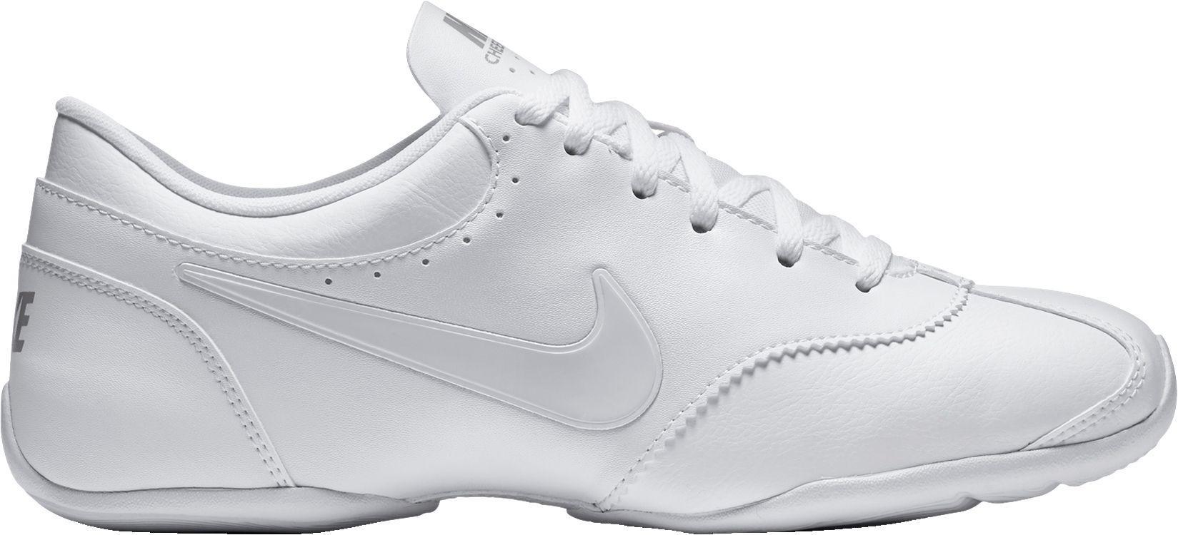 Optimismo Comprensión Bigote  Nike Synthetic Cheer Unite Cheerleading Shoes in White - Lyst
