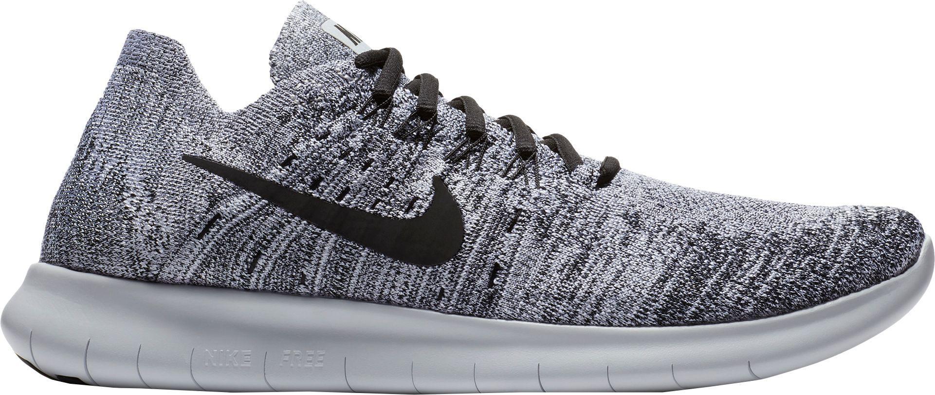 ba628b7260ed Lyst - Nike Free Rn Flyknit 2017 Running Shoes in Gray for Men