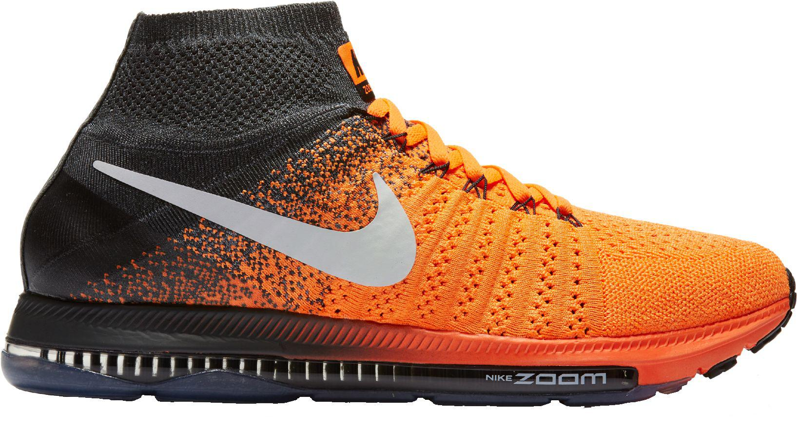 dca4c908ed328 Lyst - Nike Zoom All Out Flyknit Running Shoes in Orange for Men