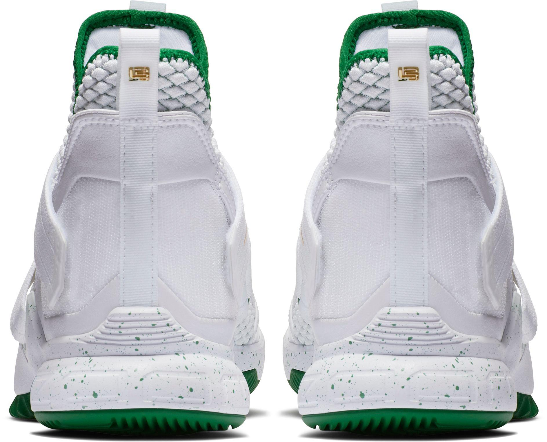 size 40 973bd b73aa Men's White Zoom Lebron Soldier Xii Basketball Shoes