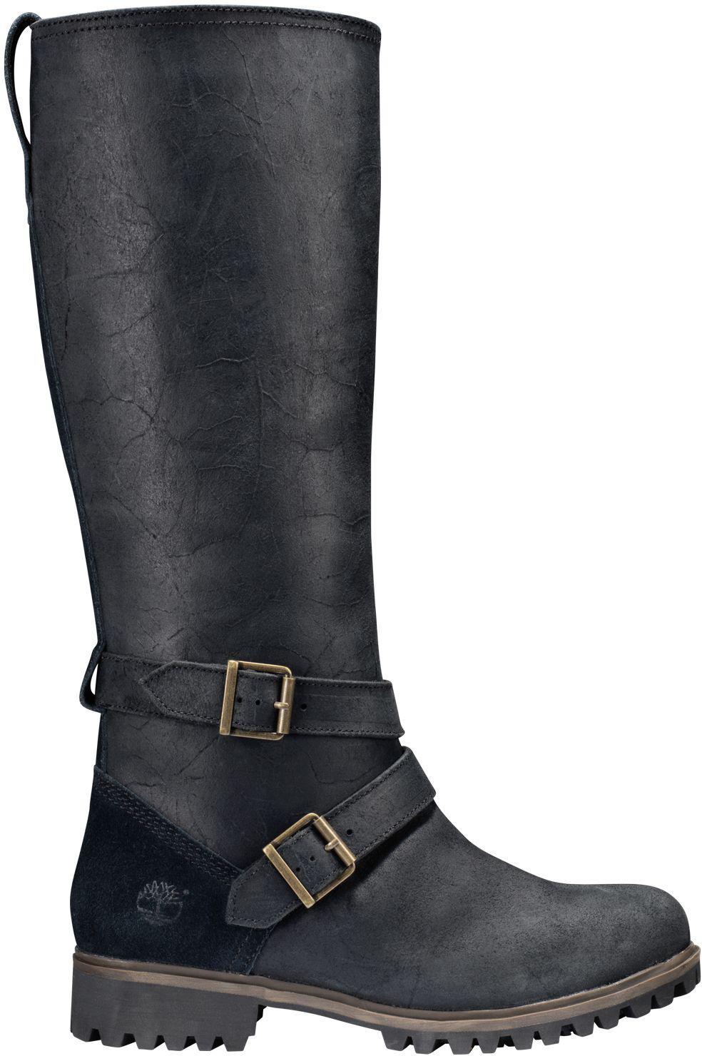 9f6b73e1afc Timberland Black Wheelwright Tall Waterproof Casual Boots